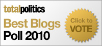 Click here to vote in the Total Politics Best Blogs Poll 2010