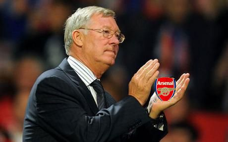 Alex Ferguson crushes Arsenal flat