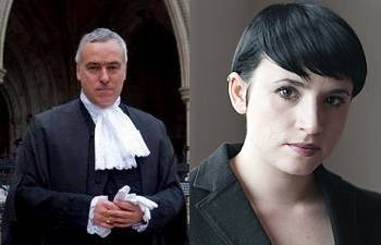 Laurie Penny and John Cooper QC