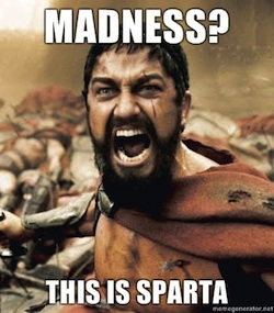Post image for No! THIS is Sparta – Part 1
