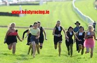 Hen Party racing - no artificial enhancement...